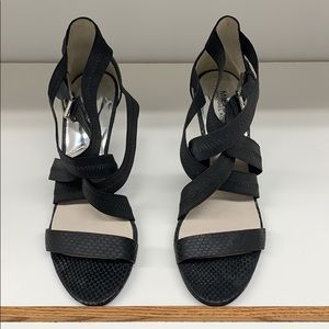 Michael Kors strappy heels 9M so cute